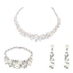 Forfamilyltd Set Of 925 Sterling Silver Gentle Angels Pendant Necklace+Matching Stud Earrings+Matching Bracelet uYCpnOrjhr