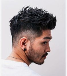 Do you have curly locks that leave you frustrated sometimes when trying to figure out the best cut? Mens Hairstyles With Beard, Quiff Hairstyles, Cool Hairstyles For Men, Hair And Beard Styles, Haircuts For Men, Curly Hair Styles, Asian Men Hairstyles, Asian Short Hair, Asian Hair