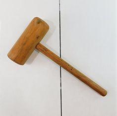 Vintage Wood Mallet, 13 L Wooden Mallet, Vintage Hand Tools, Garage Tools, Household Tools Garage Tools, Vintage Tools, Architectural Salvage, Hand Tools, Etsy Vintage, Farmhouse Style, Primitive, Household, Antiques