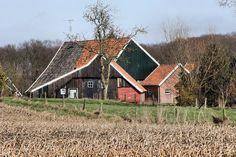 Brinkheurne bij Winterswijk, schuur nabij Erve Stemerdink