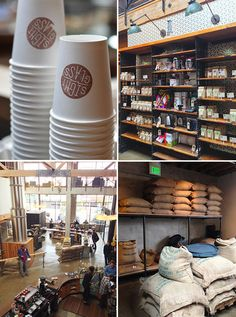 Sightglass Coffee in San Francisco; it seems an amazing place that I would like to visit!