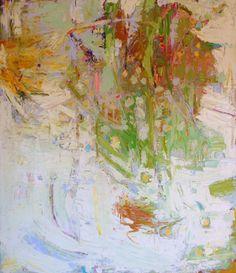 Sun and Seeds oil on canvas 55 x 48 in. Sharonbarr.ca Sharon Barrr