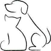 Easy drawings of dogs cat and dog drawing dog drawing simple dog drawings line drawing easy . easy drawings of dogs Cat And Dog Drawing, Dog Drawing Simple, Dog Line Drawing, Drawing Animals, Cute Cat Drawing Easy, Drawing Ideas, Cat Icon, Cat Tattoo, Cat And Dog Tattoo