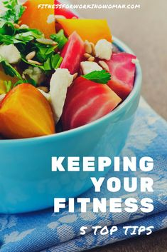 keeping your fitness