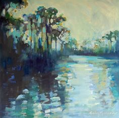landscape paintings - paintings by erinfitzhugh gregory:
