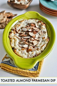 The perfect holiday appetizer, this Toasted Almond Parmesan Dip is easy to pair with a CPK oven-ready pizza for entertaining your family and friends.