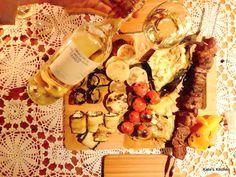 Dziś przedstawiam pakiet: zestaw grillowy (cz. 1) wraz z winem :)