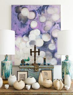 pretty purple art