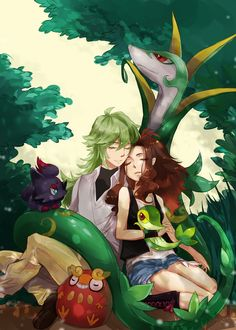 pokemon n x hilda - Google Search