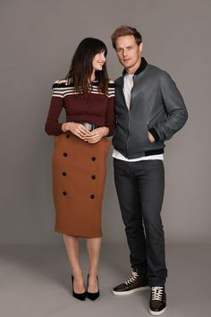 Outlander Stars Caitriona Balfe and Sam Heughan Interview - Outlander Season Three