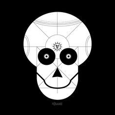 KRANE - Vanity, bones and skull ☠ illustrations and painting Crane, Skull Illustration, Montpellier, Bones, Tattoos, Painting, Design, Skull, Tatuajes
