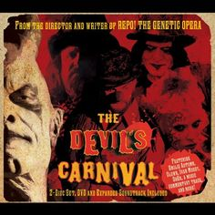 """From the makers of """"Repo! The Genetic Opera"""" - Darren Lynn Bousman (Saw II-IV) and Terrance Zdunich - comes a new musical-horror-fantasy film that has already toured the country and now is set to invade homes everywhere! Saw Ii, Fables For Kids, Paul Sorvino, Ivan Moody, Skinny Puppy, Sean Patrick Flanery, Classic Horror Movies, Fantasy Films, Tonight Alive"""
