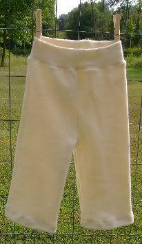 Katrina's Sew Quick Soaker Pattern: Longies pattern