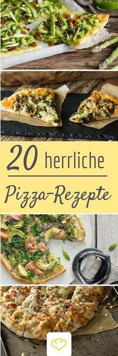 Nicht schon wieder Margherita! 20 fantasievolle Ideen wie du deine Pizza zu einem echten Gourmet-Gericht machst!