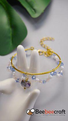 Diy Bracelets Patterns, Diy Bracelets Easy, Bracelet Crafts, Jewelry Patterns, Handmade Bracelets, Bangle Bracelet, Braided Bracelets, Macrame Patterns, Jewelry Crafts