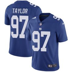 Youth Nike New York Giants #97 Devin Taylor Royal Blue Team Color Vapor Untouchable Limited Player NFL Jersey