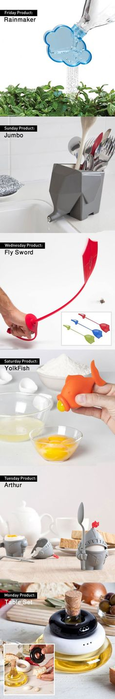 Creative household products.