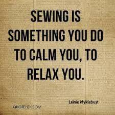 Keep calm and Sew On!