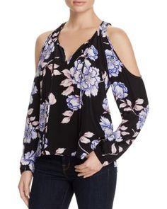 Yumi Kim Morning Glory Floral Print Cold Shoulder Top - 100% Bloomingdale's Exclusive | Bloomingdale's