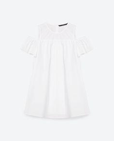 POPLIN DRESS-View All-DRESSES-WOMAN   ZARA United States