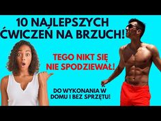 JAK SCHUDNĄĆ Z BRZUCHA? 10 NAJSKUTECZNIEJSZYCH ĆWICZEŃ NA BRZUCH! ĆWICZENIA NA PŁASKI BRZUCH! - YouTube Workout, Youtube, Sports, Hs Sports, Work Outs, Sport, Youtubers, Youtube Movies