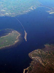 Øresundsbron set fra oven...
