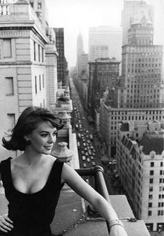 Natalie Wood - New york city skyline by AnastasiaC @ percivalroad, via Flickr