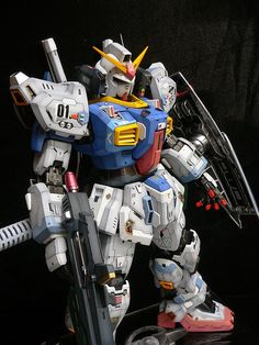 "Custom Build: PG 1/60 RX-178 Gundam Mk-II ""Enhanced"" - Gundam Kits Collection News and Reviews"