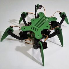 Hexana hexapod robot for servo MG90S   • Download on cults3d.com • #3Dprinting #3Dprint #3Ddesign #STLmodel #STLfile #3Dmodel #3Dprinter #Impression3D #Imprimante3D #Fichier3D #Design #3Dmodeling #3D #impresora3D #impresion3D #3Dmodelo