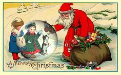 Vintage Victorian Imagens e Cartões Postais: Cristmas Postcards