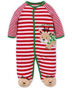 Mud Pie Boys Striped Santa Lounge Set - Santa Baby | Eli ...