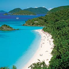 The U.S. Virgin Islands require a mere two and a half-hour flight from Miami and―if you stay on top of the specials―a few hundred bucks for a ticket.