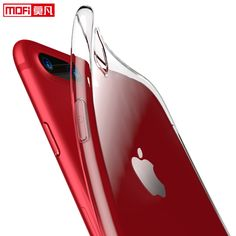 Case for iPhone 7 soft silicone transparent for iphone7 plus case protection  mofi ultra clear coque for iPhone 7 7 plus