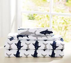 Preppy Shark Sheet Set #pbkids I ordered these for Camden