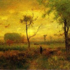 George Inness - Sunrise