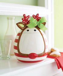 391 Best Christmas Cookie Jars Images Christmas Cookie Jars