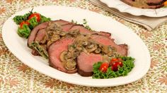 Roast Beef with Mushroom Gravy Best Recipe Ever