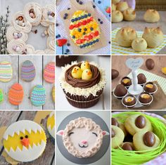 Wat ga jij bakken voor Pasen? In dit overzicht staan 9 verschillende paasrecepten en ideeën voor je op een rij! Genoeg inspiratie voor Pasen. Cupcakes, Desserts, Breakfast, Food, Animals, Recipes, Tailgate Desserts, Morning Coffee, Cupcake