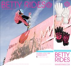Love Betty rides stuff