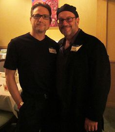 Al Conti with award winning artist Jeff Oster at the ZMR Music Awards Show, 2015