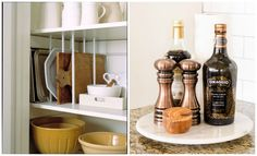 kitchen organization tips and hacks