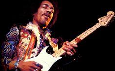 Jimi Hendrix Brown Guitar