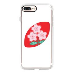 Rugby Japan - iPhone 7 Case, iPhone 7 Plus Case, iPhone 7 Cover,... (815 MXN) ❤ liked on Polyvore featuring accessories, tech accessories and android case