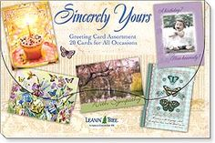 Boxed Greeting Cards - Sincerely Yours -featuring art by Barbara Ann Kenney...  Leanin' Tree