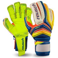 Reusch Serathor Supreme G2 Ortho-Tec Soccer Goalkeeper Gloves - model 3770990