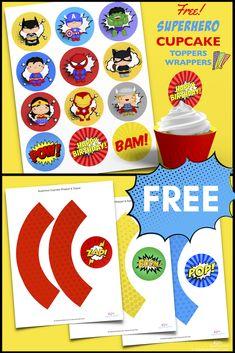 16 x Slogan Paper Cups Red Boys Superhero Party Tableware Supplies Boom Splat