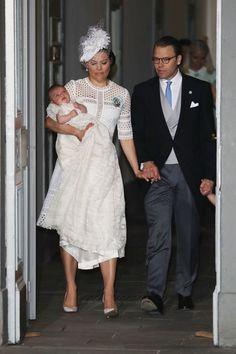 Princess Estelle of Sweden Photos - Crown Princess Victoria of Sweden holds…