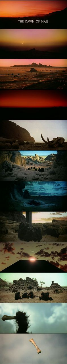 "2001: A Space Odyssey opening scene ""The Dawn Of Men."""