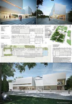 ARQA - Concurso Biblioteca Municipal de Campana, resultados