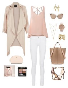 """Untitled #236"" by ycsandjaja on Polyvore featuring Nine West, Glamorous, Frame Denim, Mulberry, Forever 21, Gucci, Abercrombie & Fitch, Tory Burch, Linda Farrow and women's clothing"